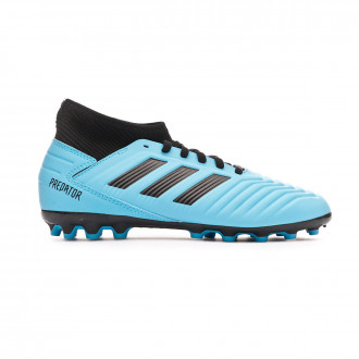 Football Boots adidas Predator 19.3 AG Niño Bright cyan-Core black-Solar yellow