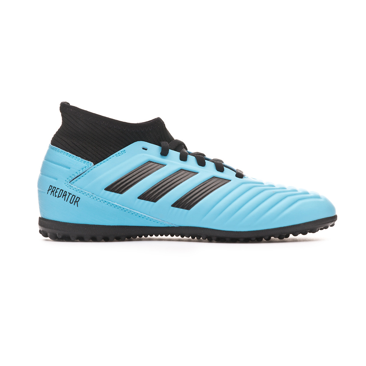 Comida sana Deshonestidad En marcha  Football Boots adidas Predator 19.3 Turf Niño Bright cyan-Core black-Solar  yellow - Football store Fútbol Emotion