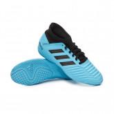 Futsal Boot Predator 19.3 IN Niño Bright cyan-Core black-Solar yellow