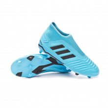 Football Boots Predator 19.3 LL FG Niño Bright cyan-Core black-Solar yellow