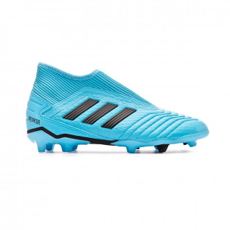 Chaussure de foot adidas Predator 19.3 LL FG Bright cyan-Core black-Solar yellow