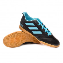 Chaussure de futsal Predator 19.4 IN Sala Niño Core black-Bright cyan-Solar yellow