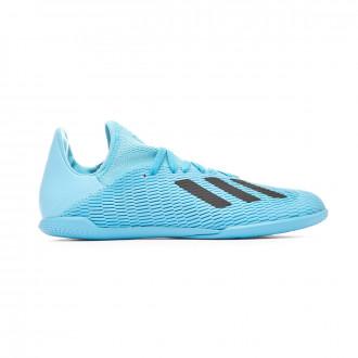 Futsal Boot adidas X 19.3 IN Niño Bright cyan-Core black-Shock pink