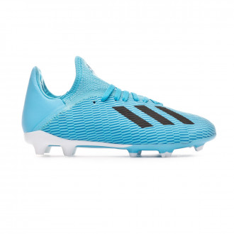 Football Boots adidas X 19.3 FG Niño Bright cyan-Core black-Shock pink