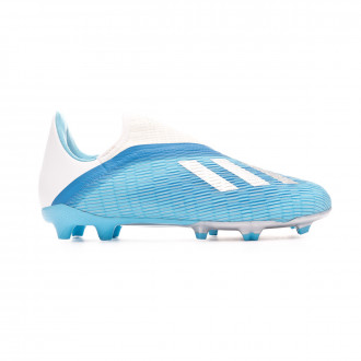 Football Boots adidas X 19.3 LL FG Niño Bright cyan-Core black-Shock pink