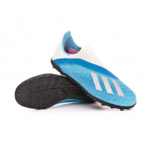 Football Boot X 19.3 LL Turf Niño Bright cyan-Core black-Shock pink