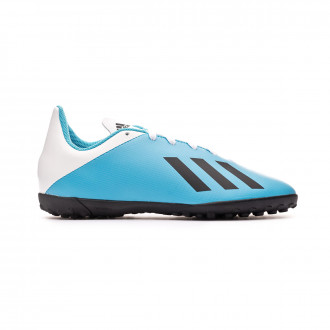 Football Boot adidas X 19.4 Turf Niño Bright cyan-Core black-Shock pink