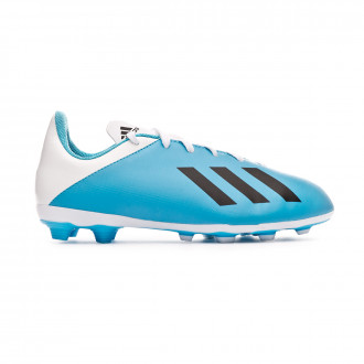 Football Boots adidas X 19.4 FxG Niño Bright cyan-Core black-Shock pink