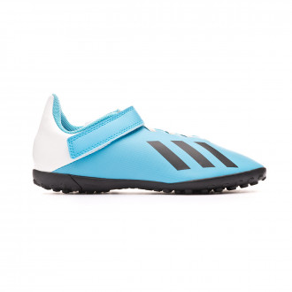 Football Boot adidas X 19.4 H&L Turf Niño Bright cyan-Core black-Shock pink