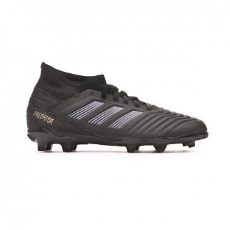 Football Boots  adidas Predator 19.3 FG Niño Core black-Gold metallic
