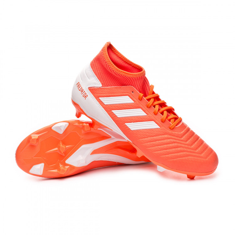 actividad Limitado mosaico  Football Boots adidas Predator 19.3 FG Mujer Hi-res coral-White-Glow pink -  Football store Fútbol Emotion