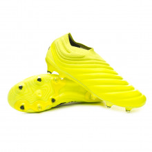Chuteira Copa 19+ FG Solar yellow-Core black-Solar yellow