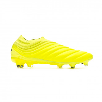 Zapatos de fútbol adidas Copa 19+ FG Solar yellow-Core black-Solar yellow