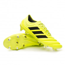 Chuteira Copa 19.1 SG Solar yellow-Core black-Solar yellow