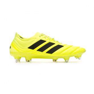 Chaussure de foot adidas Copa 19.1 SG Solar yellow-Core black-Solar yellow