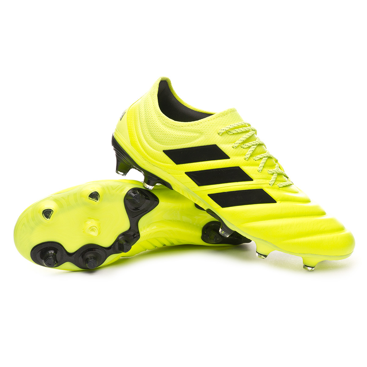 Bota Copa 19.1 FG Solar yellow Core black Solar yellow