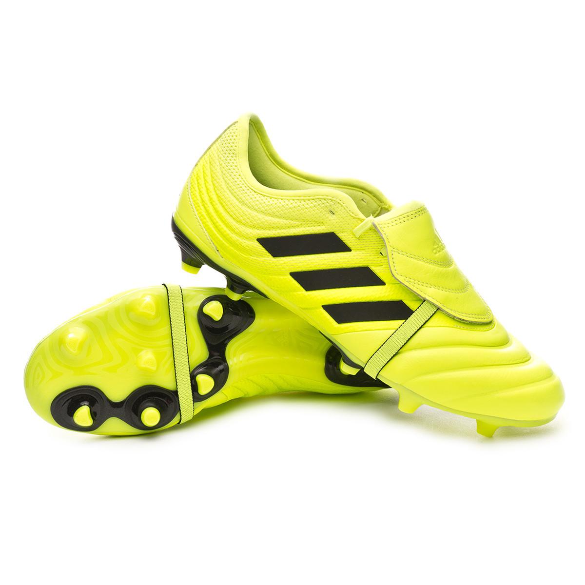 sin Árbol código Morse  Football Boots adidas Copa Gloro 19.2 FG Solar yellow-Core black-Solar  yellow - Football store Fútbol Emotion