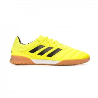 Chaussure de futsal adidas Copa 19.3 IN Sala Solar yellow-Core black-Solar yellow