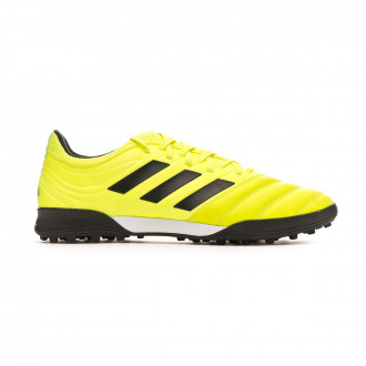 Tenis adidas Copa 19.3 Turf Solar yellow-Core black-Solar yellow