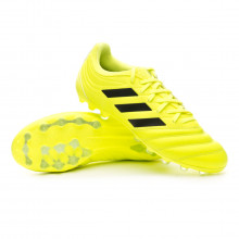 Chuteira Copa 19.3 AG Solar yellow-Core black-Solar yellow