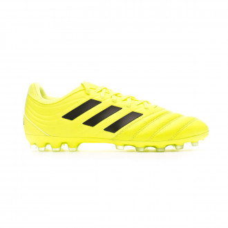 Chaussure de foot adidas Copa 19.3 AG Solar yellow-Core black-Solar yellow