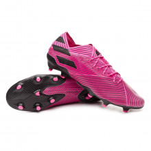 Chuteira Nemeziz 19.1 FG Shock pink-Core black-Shock pink