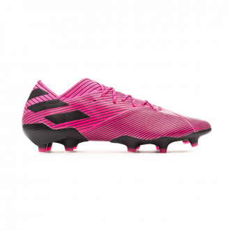 Chuteira  adidas Nemeziz 19.1 FG Shock pink-Core black-Shock pink