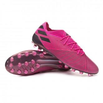 Football Boots adidas Nemeziz 19.1 AG Shock pink-Core black-Shock pink