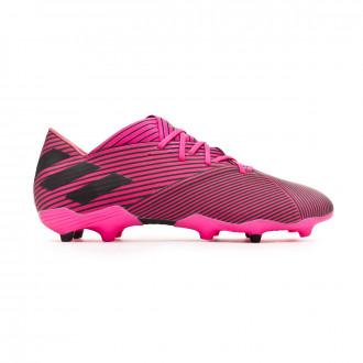 Chuteira adidas Nemeziz 19.2 FG Shock pink-Core black-Shock pink