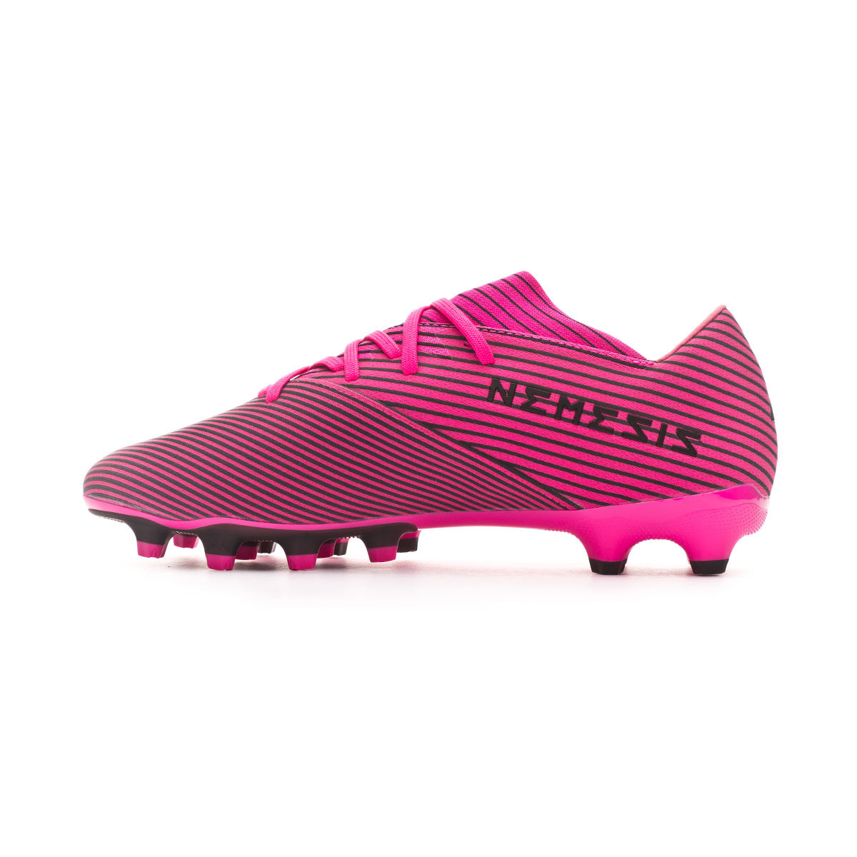 Football Boots Adidas Nemeziz 19 2 Mg Shock Pink Core Black Shock Pink Football Store Futbol Emotion