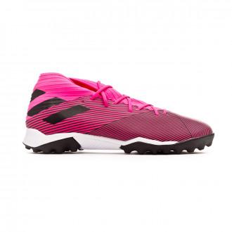 Sapatilhas adidas Nemeziz 19.3 Turf Shock pink-Core black-Shock pink