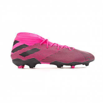 Chaussure de foot adidas Nemeziz 19.3 FG Shock pink-Core black-Shock pink