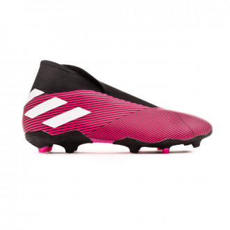 Chaussure de foot adidas Nemeziz 19.3 LL FG Shock pink-White-Core black