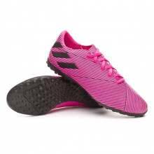 Zapatilla Nemeziz 19.4 Turf Shock pink-Core black-Shock pink