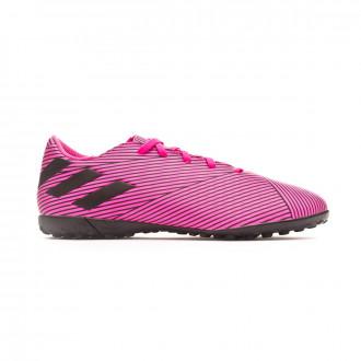 Zapatilla adidas Nemeziz 19.4 Turf Shock pink-Core black-Shock pink