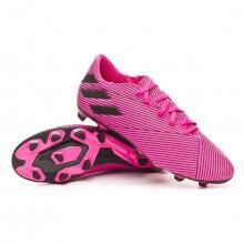 Chuteira Nemeziz 19.4 FxG Shock pink-Core black-Shock pink