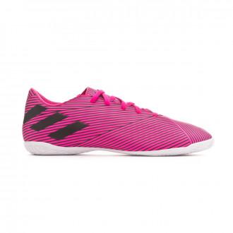 Chaussure de futsal adidas Nemeziz 19.4 IN Shock pink-Core black-Shock pink