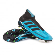 Football Boots Predator 19+ FG Bright cyan-Core black-Solar yellow