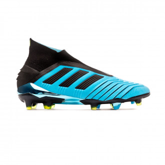 Football Boots adidas Predator 19+ FG Bright cyan-Core black-Solar yellow