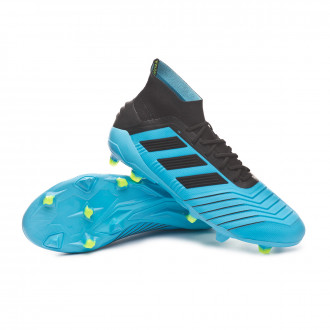 Predator 19.1 FG Bright cyan-Core black-Solar yellow