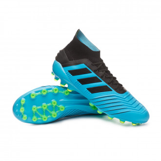 Predator 19.1 AG Bright cyan-Core black-Solar yellow