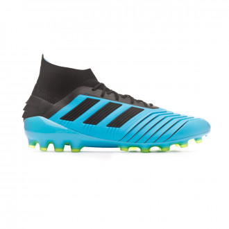 Football Boots adidas Predator 19.1 AG Bright cyan-Core black-Solar yellow