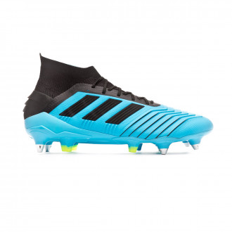 Scarpe  adidas Predator 19.1 SG Bright cyan-Core black-Solar yellow