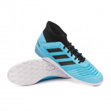Futsal Boot Predator 19.3 IN Bright cyan-Core black-Solar yellow