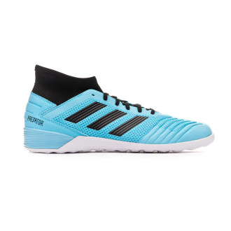 Sapatilha de Futsal adidas Predator 19.3 IN Bright cyan-Core black-Solar yellow