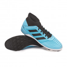 Football Boot Predator 19.3 Turf Bright cyan-Core black-Solar yellow