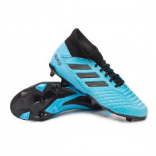 Chaussure de foot Predator 19.3 FG Bright cyan-Core black-Solar yellow
