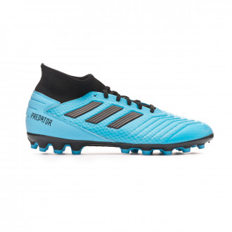 Football Boots adidas Predator 19.3 AG Bright cyan-Core black-Solar yellow