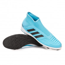 Chaussure de football Predator 19.3 LL Turf Bright cyan-Core black-Solar yellow