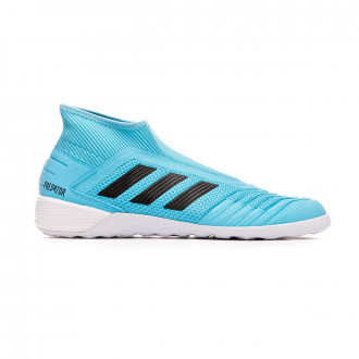 Sapatilha de Futsal adidas Predator 19.3 LL IN Bright cyan-Core black-Solar yellow